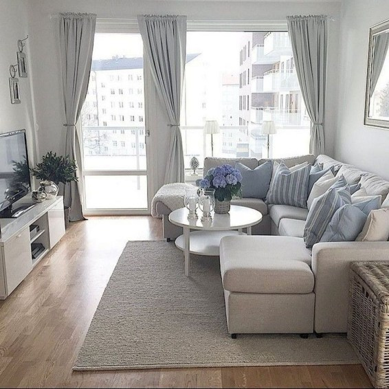 Impressive Apartment Living Room Decorating Ideas On A Budget45