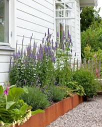 Incredible Flower Bed Design Ideas For Your Small Front Landscaping17
