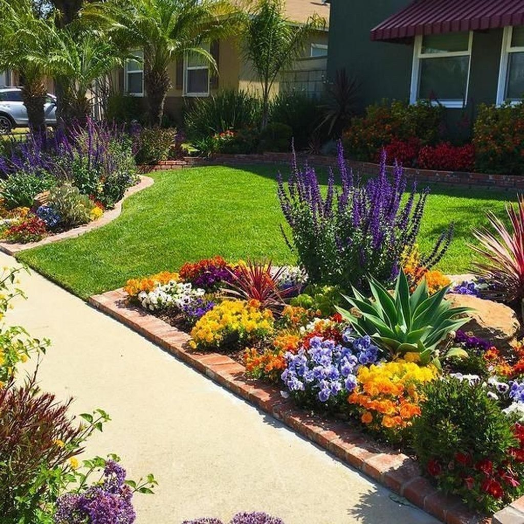 front flower bed design ideas