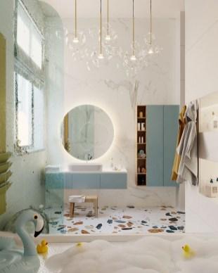 Most Popular Bathroom Color Design Ideas09