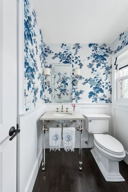 Most Popular Bathroom Color Design Ideas25