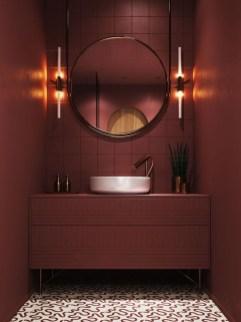 Most Popular Bathroom Color Design Ideas30