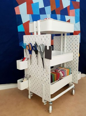 Stunning Diy Portable Office Organization Ideas12