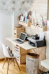 Stunning Diy Portable Office Organization Ideas15