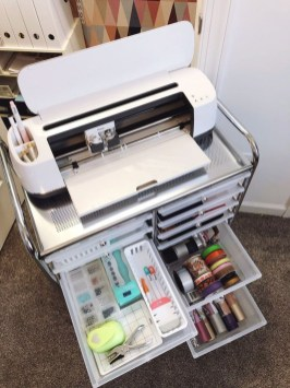Stunning Diy Portable Office Organization Ideas27
