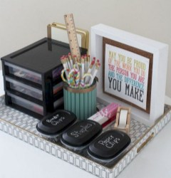 Stunning Diy Portable Office Organization Ideas31