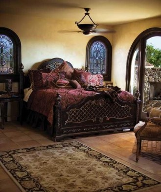 Tuscan Style Bedroom Decorative Ideas That Make Your Sleep Warm08