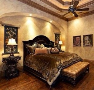 Tuscan Style Bedroom Decorative Ideas That Make Your Sleep Warm15