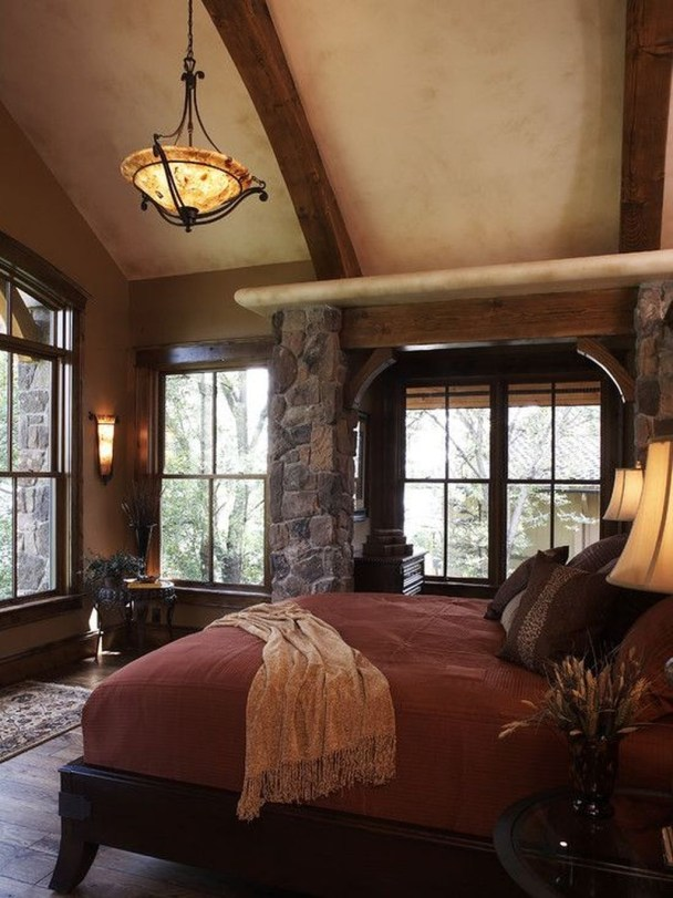 Tuscan Style Bedroom Decorative Ideas That Make Your Sleep Warm28