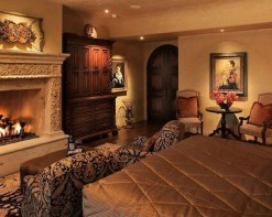 Tuscan Style Bedroom Decorative Ideas That Make Your Sleep Warm37