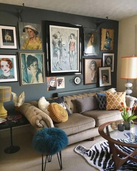 Unique Wall Decor Design Ideas For Living Room24