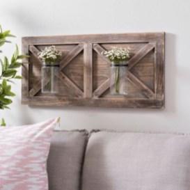 Unique Wall Decor Design Ideas For Living Room26