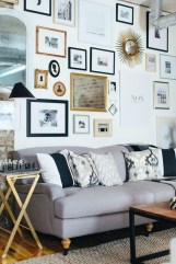 Wonderful Black White And Gold Living Room Design Ideas18