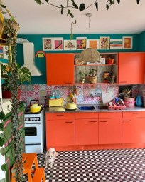 Awesome Bohemian Kitchen Design Ideas For Comfortable Cooking29