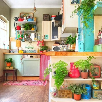 Awesome Bohemian Kitchen Design Ideas For Comfortable Cooking38