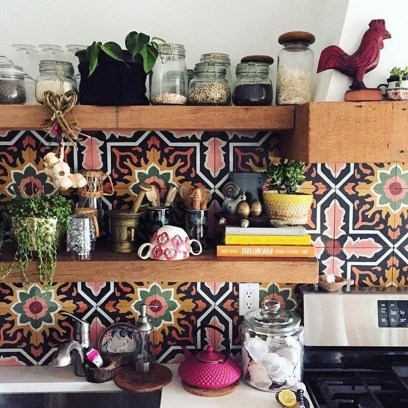 Awesome Bohemian Kitchen Design Ideas For Comfortable Cooking43
