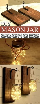 Awesome Diy Mason Jar Lights To Make Your Home Look Beautiful23