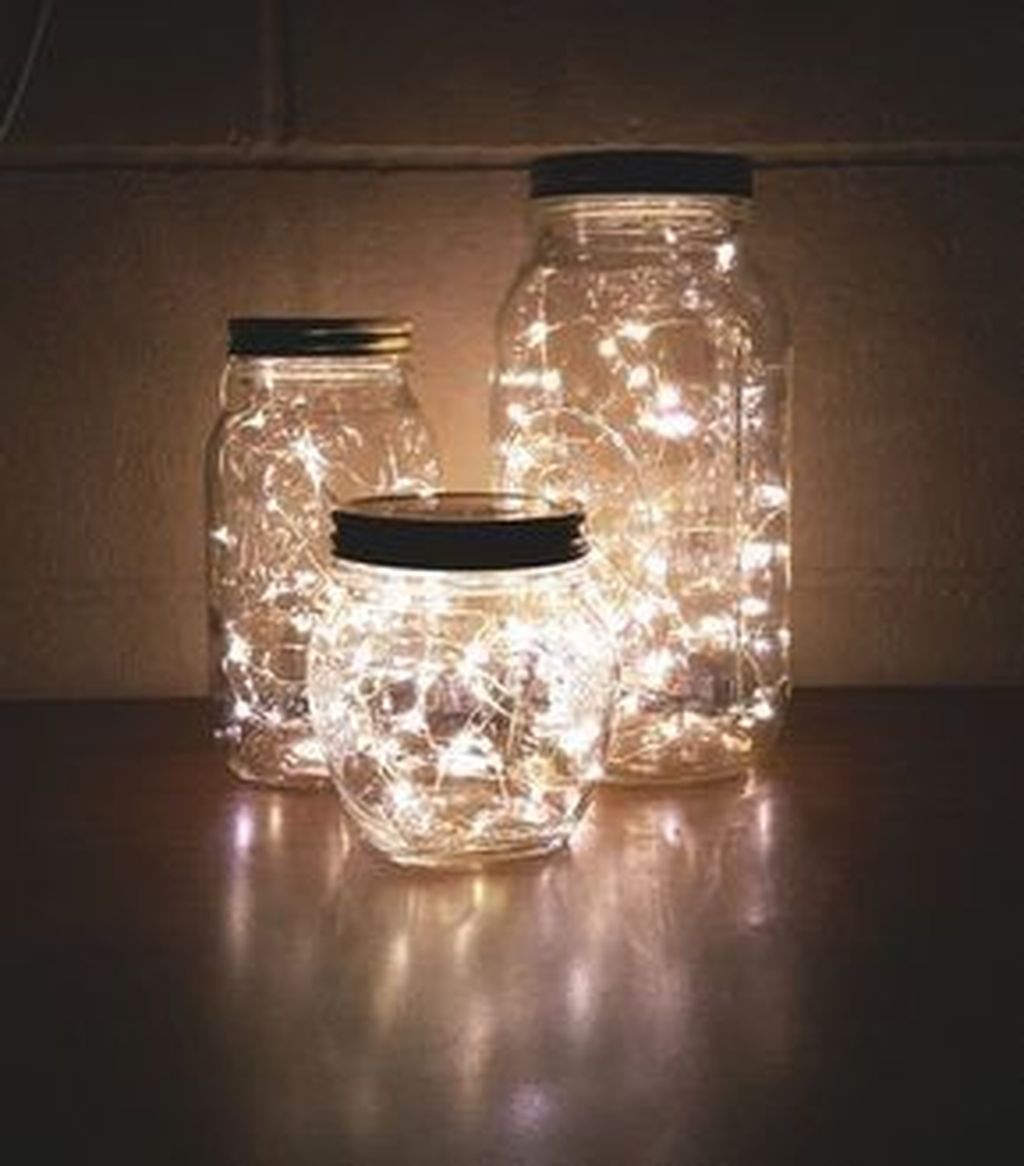 Awesome Diy Mason Jar Lights To Make Your Home Look Beautiful34