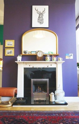Awesome Wall Paint Color Combination Design Ideas For The Beauty Of Your Home Interior26