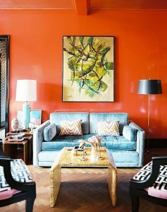 Awesome Wall Paint Color Combination Design Ideas For The Beauty Of Your Home Interior28