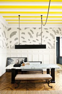 Awesome Wall Paint Color Combination Design Ideas For The Beauty Of Your Home Interior30