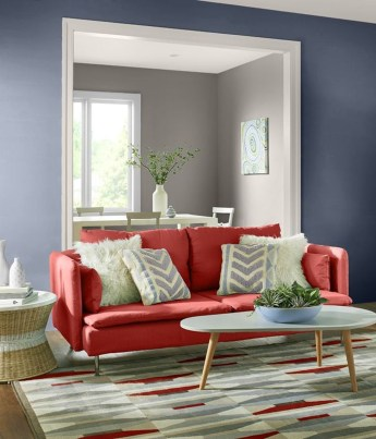 Awesome Wall Paint Color Combination Design Ideas For The Beauty Of Your Home Interior42