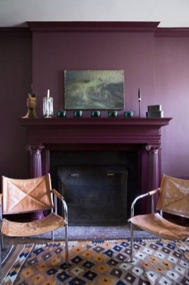 Awesome Wall Paint Color Combination Design Ideas For The Beauty Of Your Home Interior44