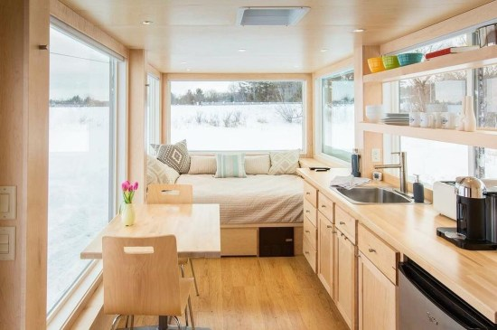 Beautiful And Creative Tiny Houses That Maximize Function Your Home31