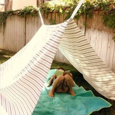 Comfortable Backyard Decoration Ideas For Your Summer04