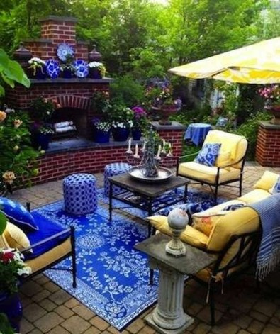 Comfortable Backyard Decoration Ideas For Your Summer06