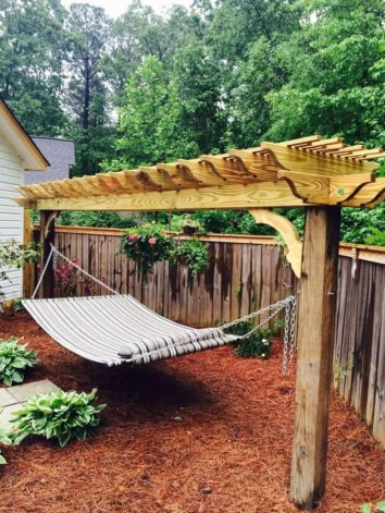 Comfortable Backyard Decoration Ideas For Your Summer07