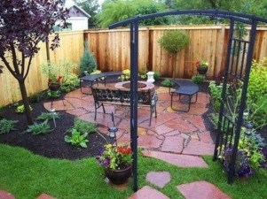 Comfortable Backyard Decoration Ideas For Your Summer09