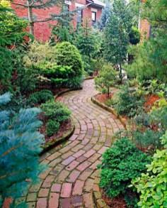 Creative Diy Garden Walkways Ideas For Stunning Home Yard01