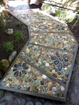 Creative Diy Garden Walkways Ideas For Stunning Home Yard06