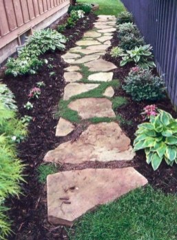 Creative Diy Garden Walkways Ideas For Stunning Home Yard07