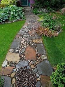 Creative Diy Garden Walkways Ideas For Stunning Home Yard11