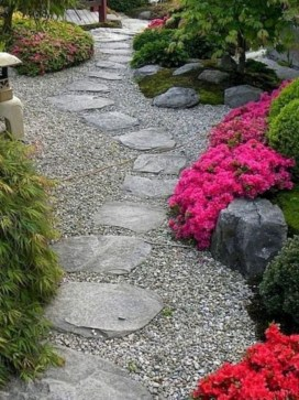 Creative Diy Garden Walkways Ideas For Stunning Home Yard32