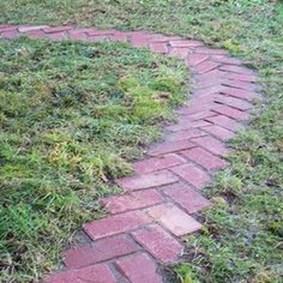Creative Diy Garden Walkways Ideas For Stunning Home Yard39