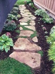 Creative Diy Garden Walkways Ideas For Stunning Home Yard40