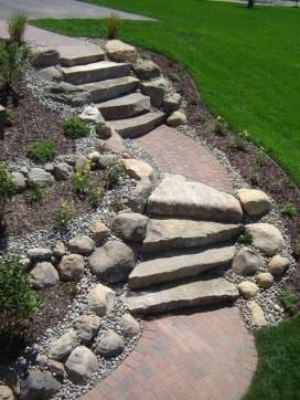 Creative Diy Garden Walkways Ideas For Stunning Home Yard44