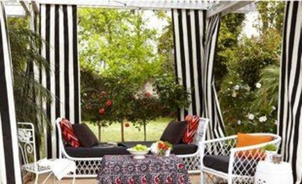 Creative Ideas To Decorate Your Outdoor Room25