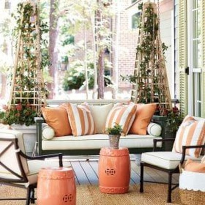 Creative Ideas To Decorate Your Outdoor Room32