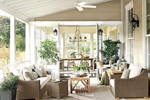 Creative Ideas To Decorate Your Outdoor Room43