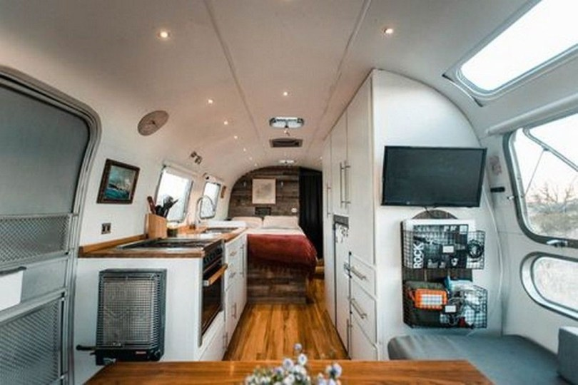 Enchanting Airstream Rv Design And Decoration Ideas For Your Travel Comfort13
