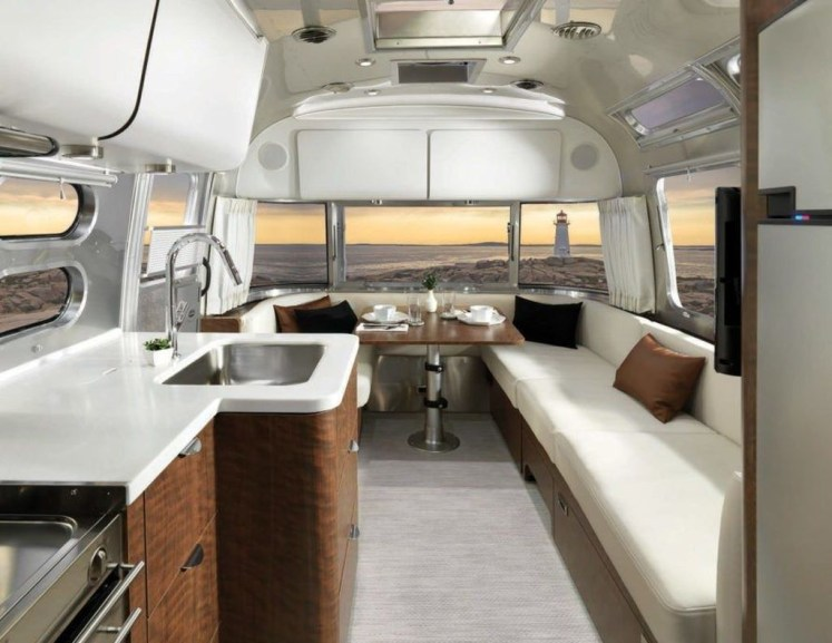 Enchanting Airstream Rv Design And Decoration Ideas For Your Travel Comfort22