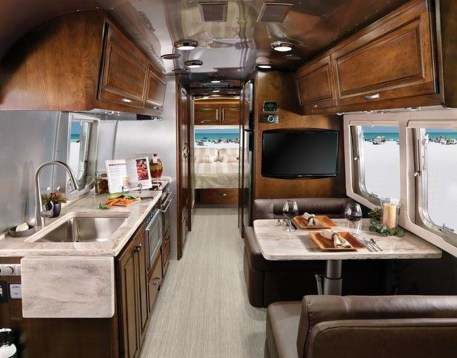 Enchanting Airstream Rv Design And Decoration Ideas For Your Travel Comfort24