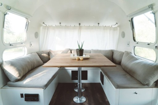 Enchanting Airstream Rv Design And Decoration Ideas For Your Travel Comfort30