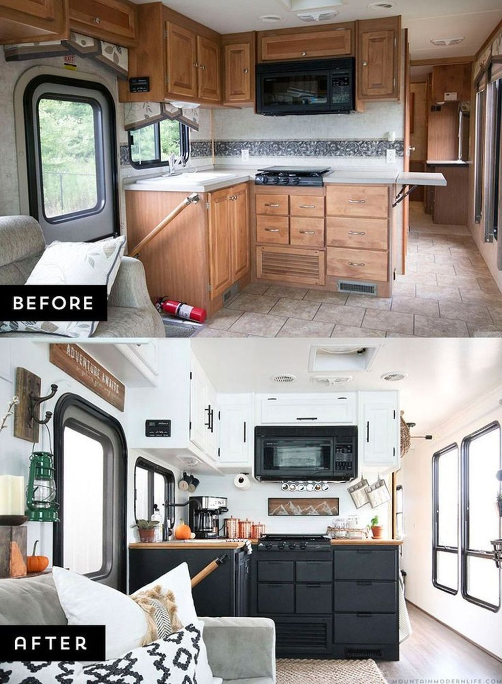 Enchanting Airstream Rv Design And Decoration Ideas For Your Travel Comfort41