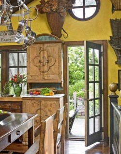 Extraordinary County Rustic Kitchen Ideas For Inspiration02