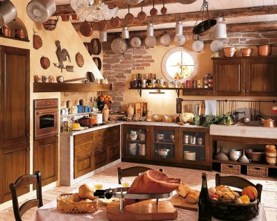 Extraordinary County Rustic Kitchen Ideas For Inspiration03